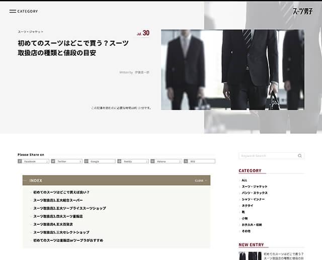 スーツ男子 image